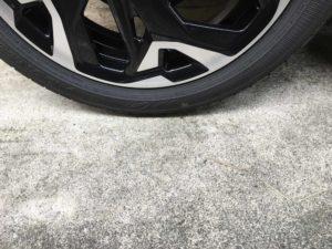 タイヤ接地